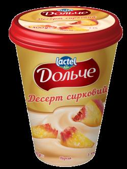 Dessert 3,4% Peach Dolce (cup 0,400 kg)