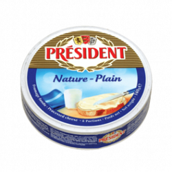 Processed cheese portions 50% Président