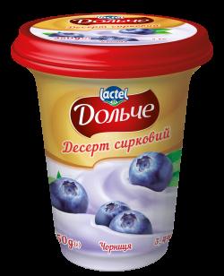 Dessert 3,4% Blueberry Dolce (cup 0,350 kg)