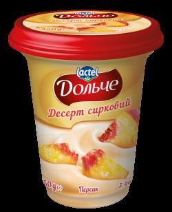 Dessert 3,4% Peach Dolce (cup 0,350 kg)