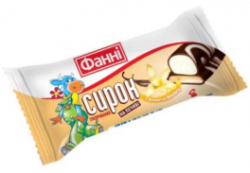 Glazed curd on a biscuit 15% Vanilla Fanni (0,050 kg)