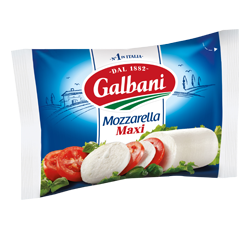 Fresh cheese Mozzarella Maxi 45% Galbani
