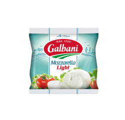 Fresh cheese Mozzarella Light 28% Galbani