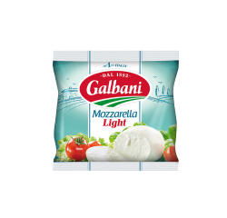 Fresh cheese Mozzarella Light 25% Galbani