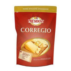 Hard grated cheese Corregio 40% Président