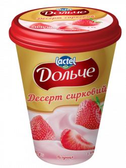 Dessert 3,4% Strawberry Dolce (cup 0,400 kg)