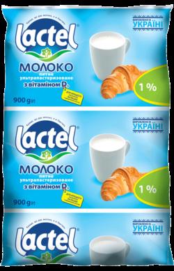 Молоко Лактель Тетра Фино 1%