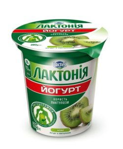 Густий йогурт  з наповнювачем  Ківі з лактулозою  «Лактонія»