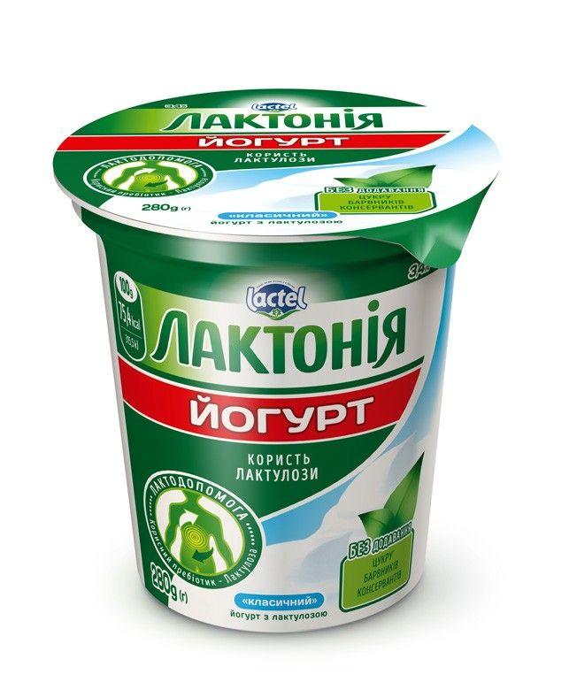 """Густий йогурт з лактулозою класичний """"Лактонія"""""""