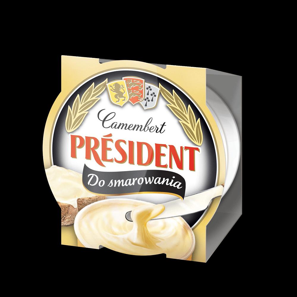 Сир плавлений з Камамберу 50% Президент