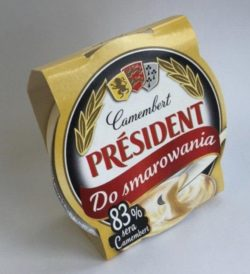 Processed cheese Camembert 50% President