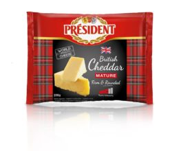 Hard cheese Cheddar Mature 48% President