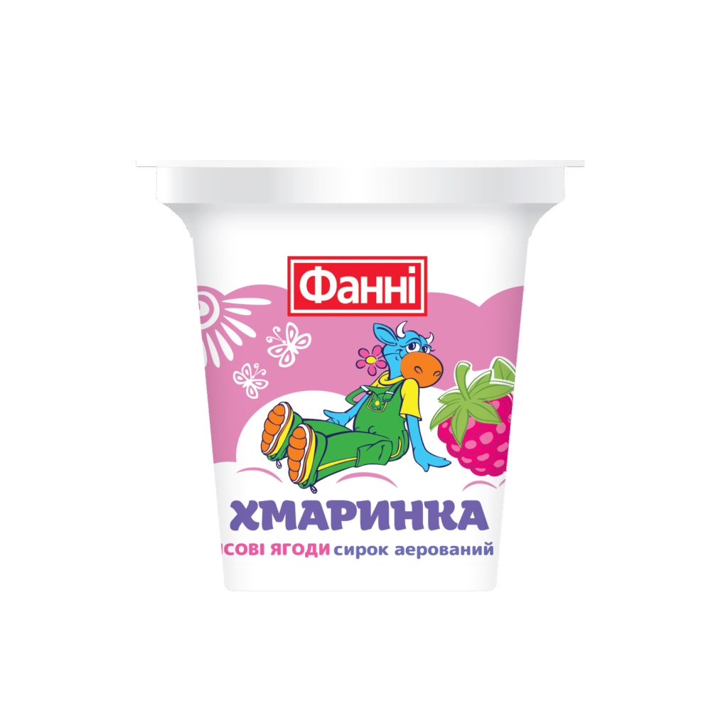 "Syrok aerated ""Hmarynka"" with wild berries"