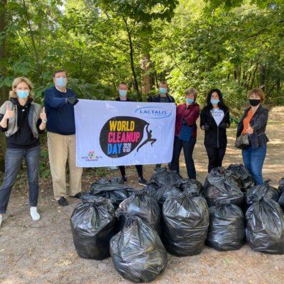 Компанія «Лакталіс» 19 вересня приєдналася до Всесвітнього дня прибирання