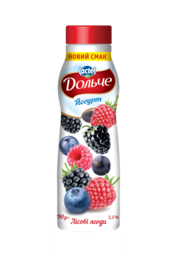 Drinkable yogurt 2,5% Wild berries Dolce