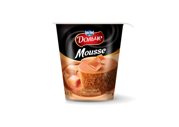 Mousse 3,2% Caramel Dolce