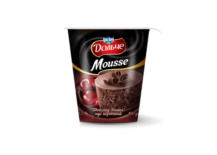 Mousse 3,2% Chocolate-cherry Dolce