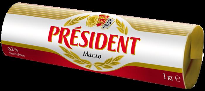Unsalted butter 82% Président