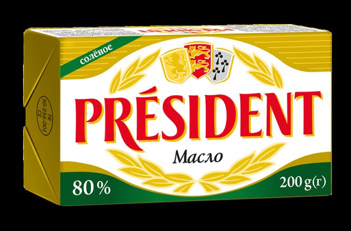 Salted butter 80% Président