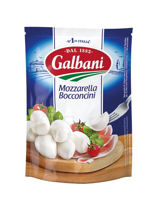 Сир свіжий Моцарела Бокончіні 45% Гальбані