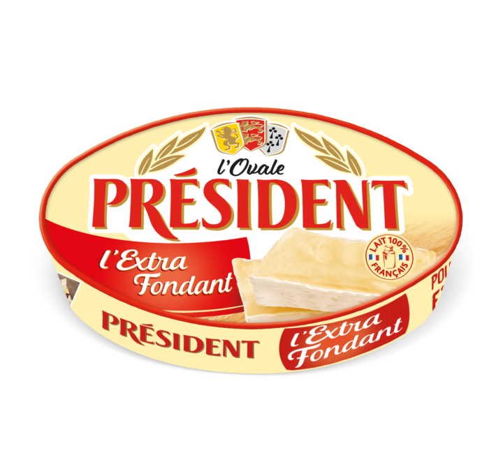 Soft cheese Oval Extra Fondant 60% President