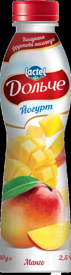 Йогурт питний 2,5% з манго
