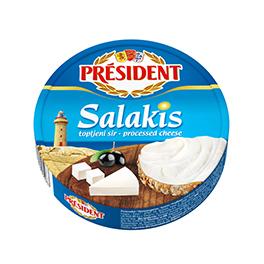 Плавлений порційний з сиром Фета Салакіс Президент 35%