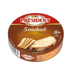 Плавлений порційний з ароматом копчення Президент 45%